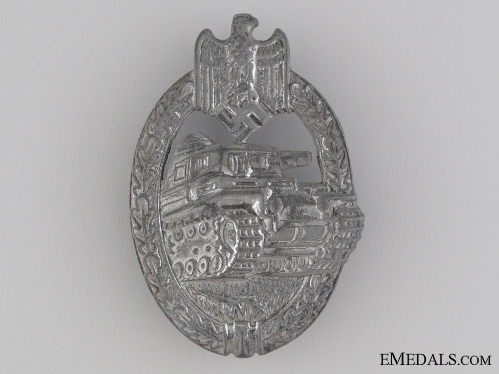 Tank Assault Badge; Silver Grade by Rudolf Karneth