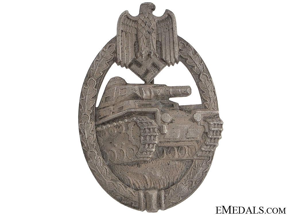 Tank Badge – Silver KWM