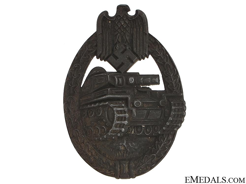 Tank Badge - Rudolf Richter, Schlag