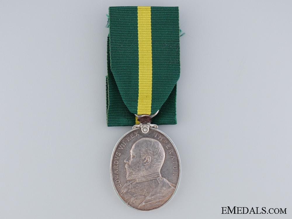 Territorial Force Efficiency Medal