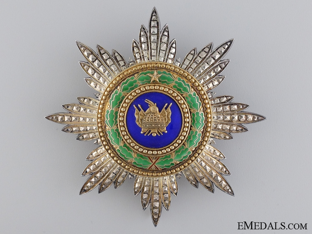 The Albanian Order of Scanderbeg; Grand Cross Star