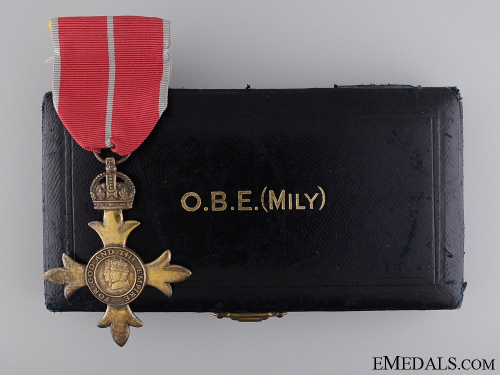 The Most Excellent Order of the British Empire; Officer's Badge