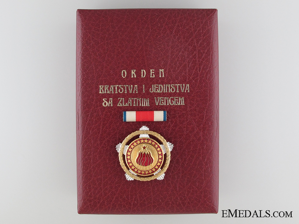 The Order of Brotherhood and Unity; First Class