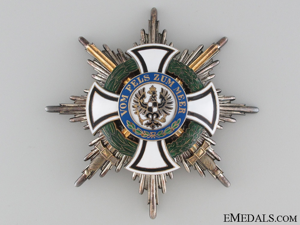 The Order of Hohenzollern - Grand Cross Star