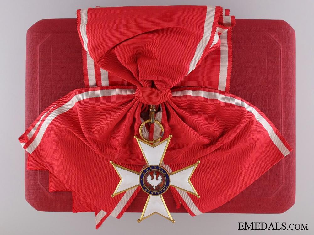The Order of Polonoa Restituta; Grand Cross with Case