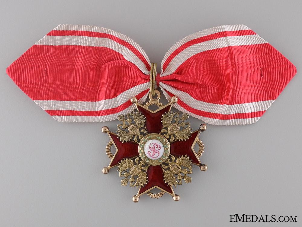 An Order of St. Stanislaus 2nd Class; Civil by Albert Keibel