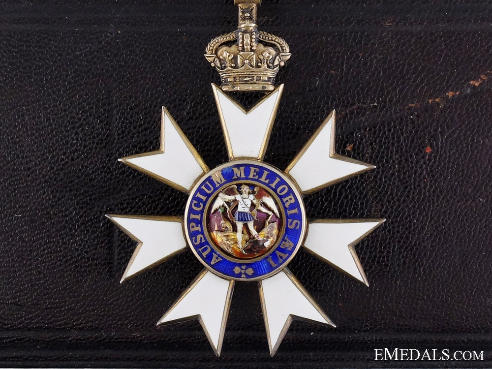 The Order of St.Michael & St.George; Companion Breast Badge