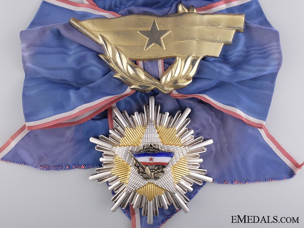 Order of the Yugoslav Flag; Grand Cross