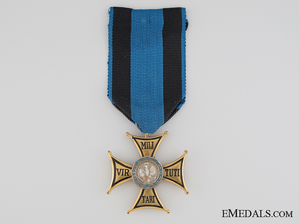 The Order of Virtuti Militari - 4th Class