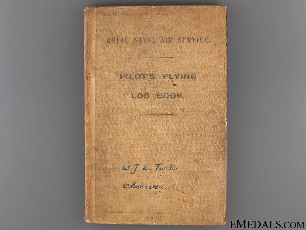 The WII R.N.A.S. Log Book of Observer W.Twife