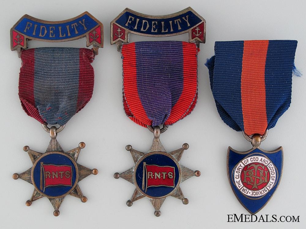Three British Temperance Medals