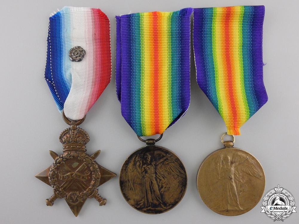 Three First War British Campaign Medals