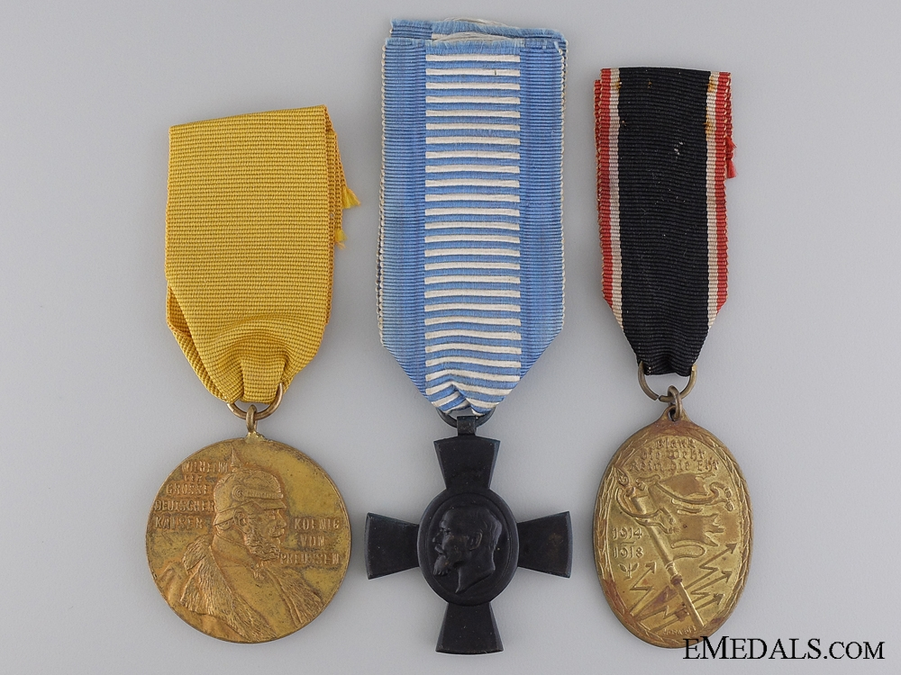 Three German Imperial Medals
