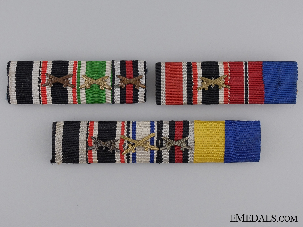 Three German Ribbon Bars