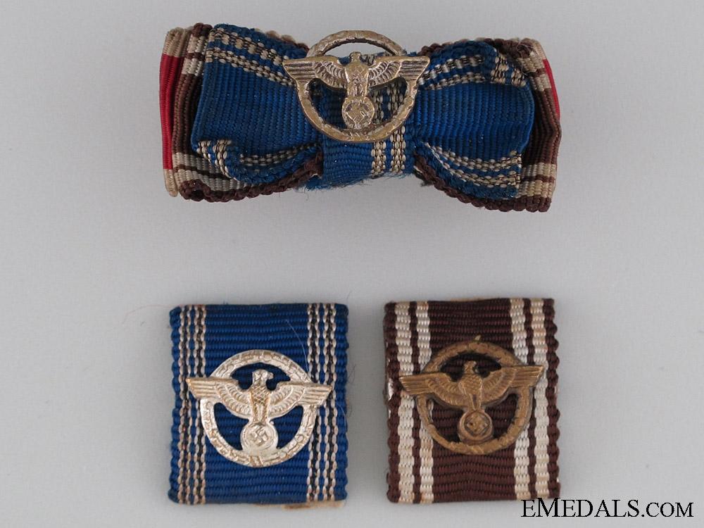 Three NSDAP Ribbon Bars
