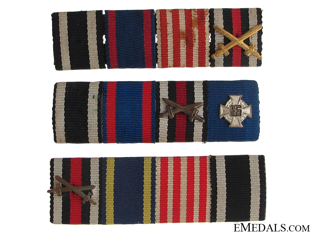 Three Ribbon Bars
