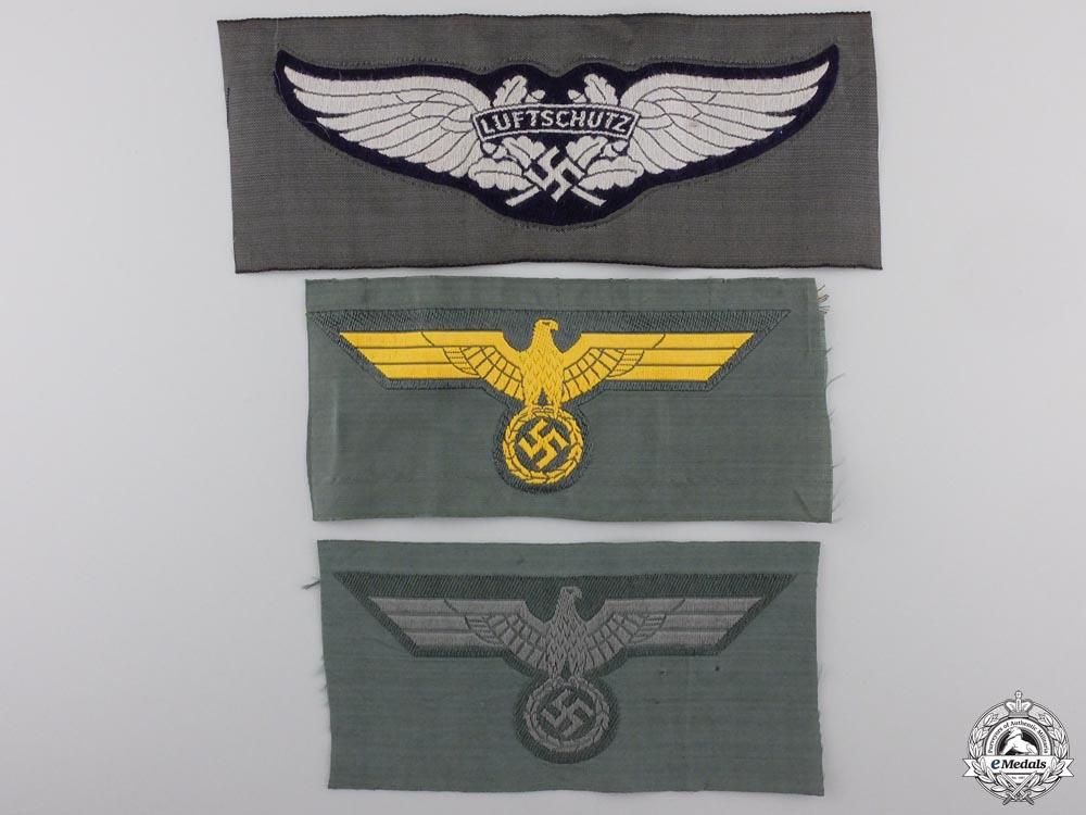 Three Third Reich Cloth Items