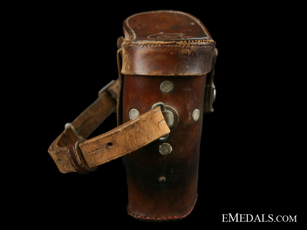 WWI Ottoman Empire Field Glasses complete with Case