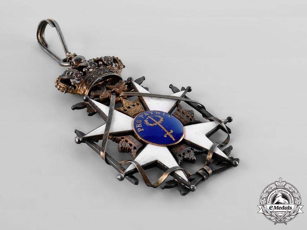 Sweden, Kingdom. An Order of the Sword, II Class Commander, c.1920