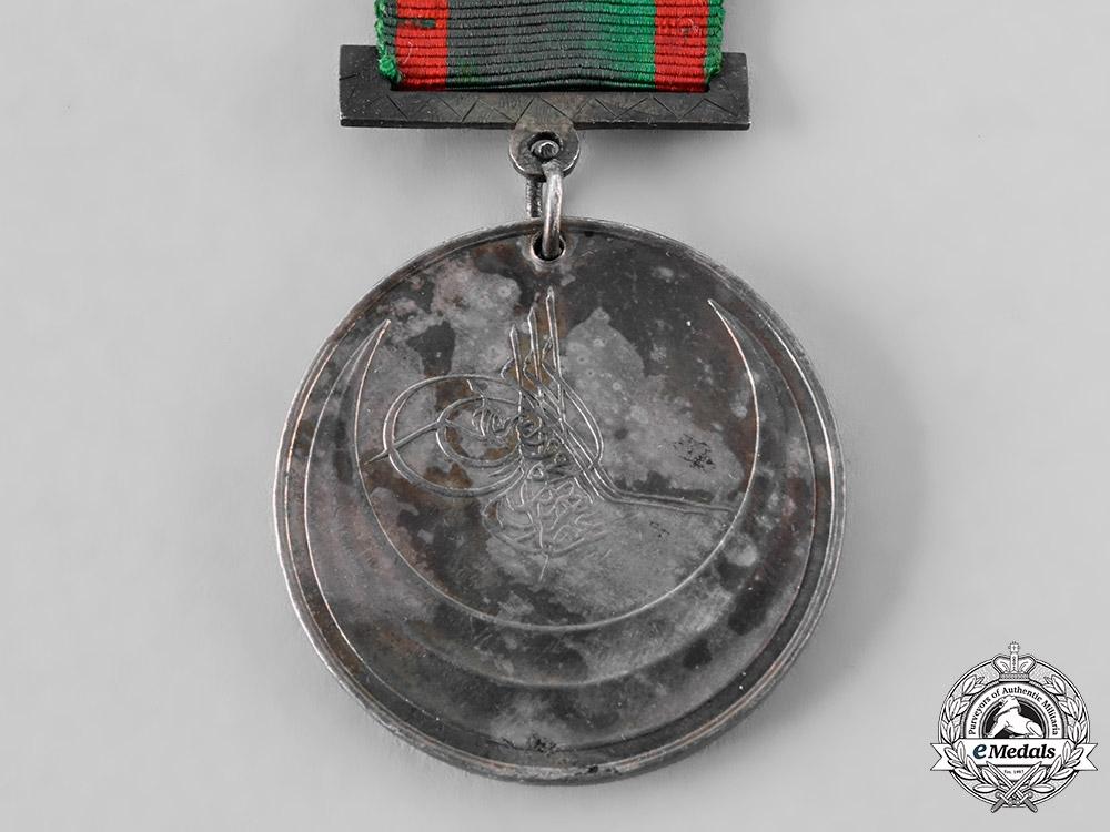 Turkey, Ottoman Empire. A 1st Crete Campaign Medal, c. 1869