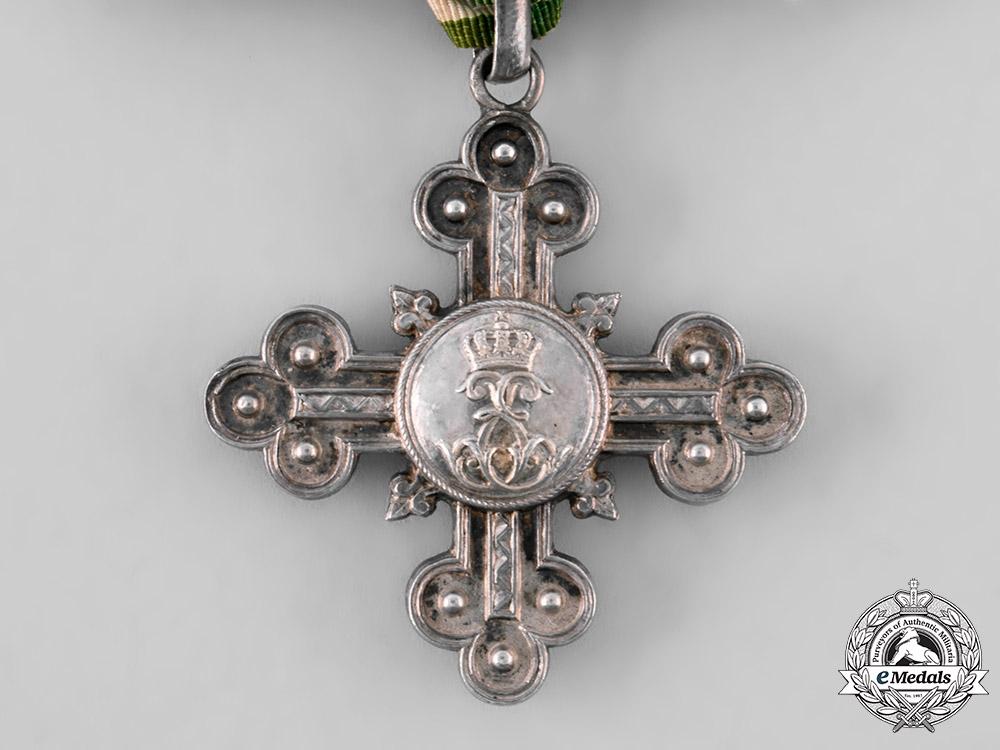 Saxe-Altenburg, Duchy. A Long Service Decoration for Domestic Service, c.1900