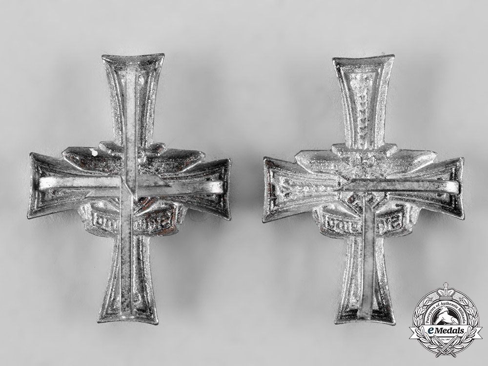 Germany, Heer. A Pair of Stalingrad Shoulder Board Ciphers for the 134th Grenadier Regiment