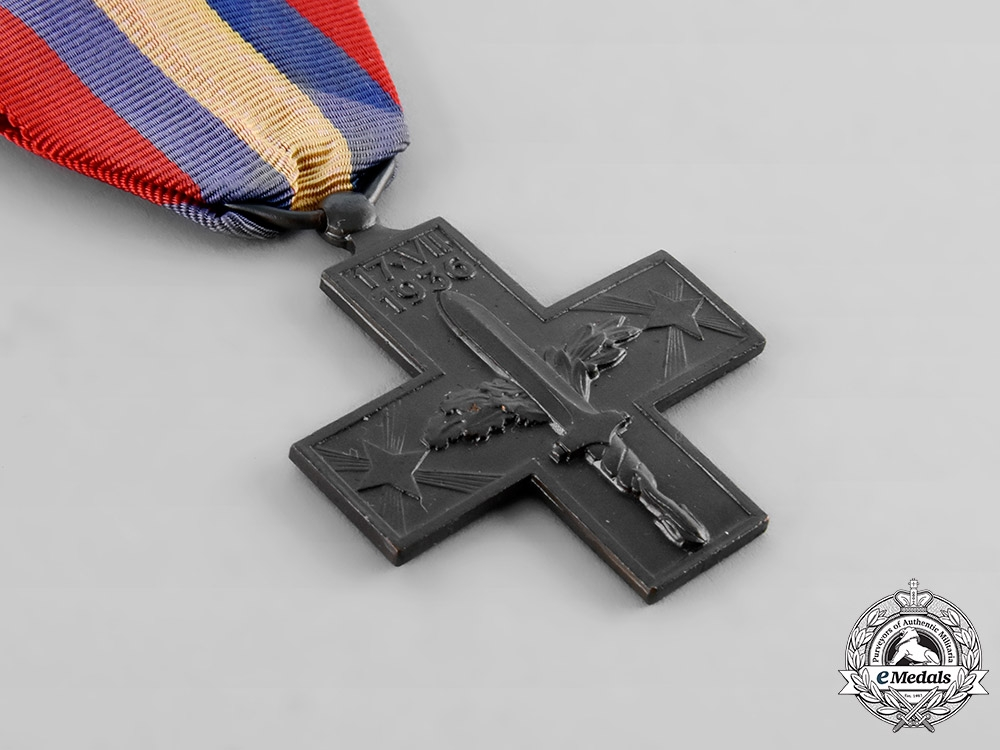 Italy, Kingdom. A Commemorative War Cross for the Spanish Campaign, c. 1940