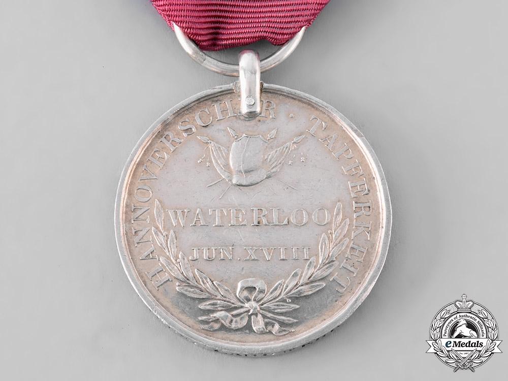 Hannover, Kingdom. A Waterloo Medal