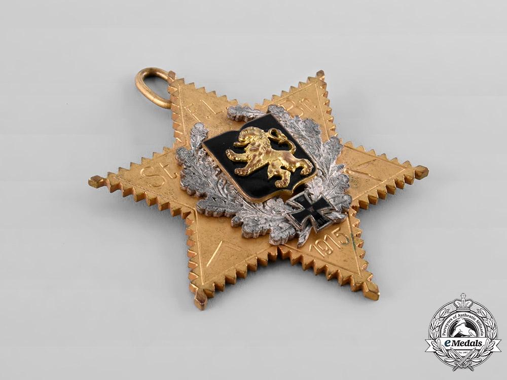 Germany, Imperial. A Brunswick Masonic Badge, 1915