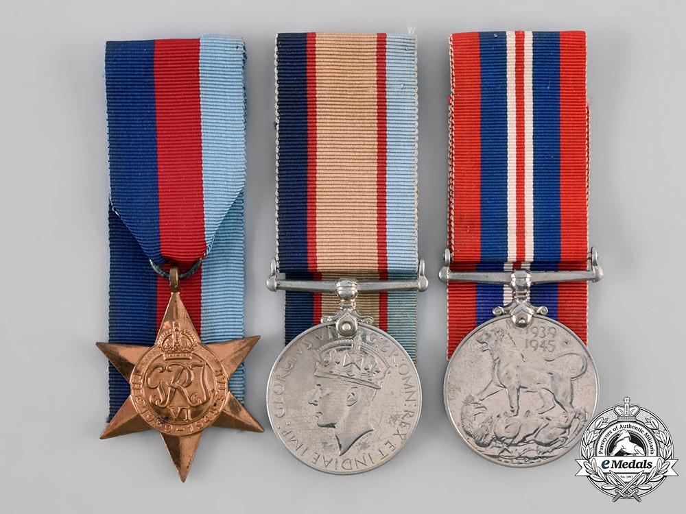 Australia, Commonwealth. A Medal Group, Private C.A.J. Edwards, 2/3 Australia Malaria Unit, Australian Imperial Forces