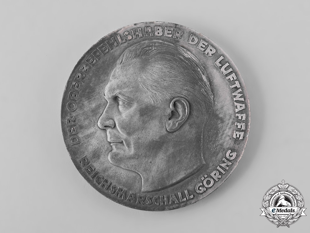 Germany, Luftwaffe. A Table Medal for Outstanding Technical Achievements in the Luftwaffe, with Case