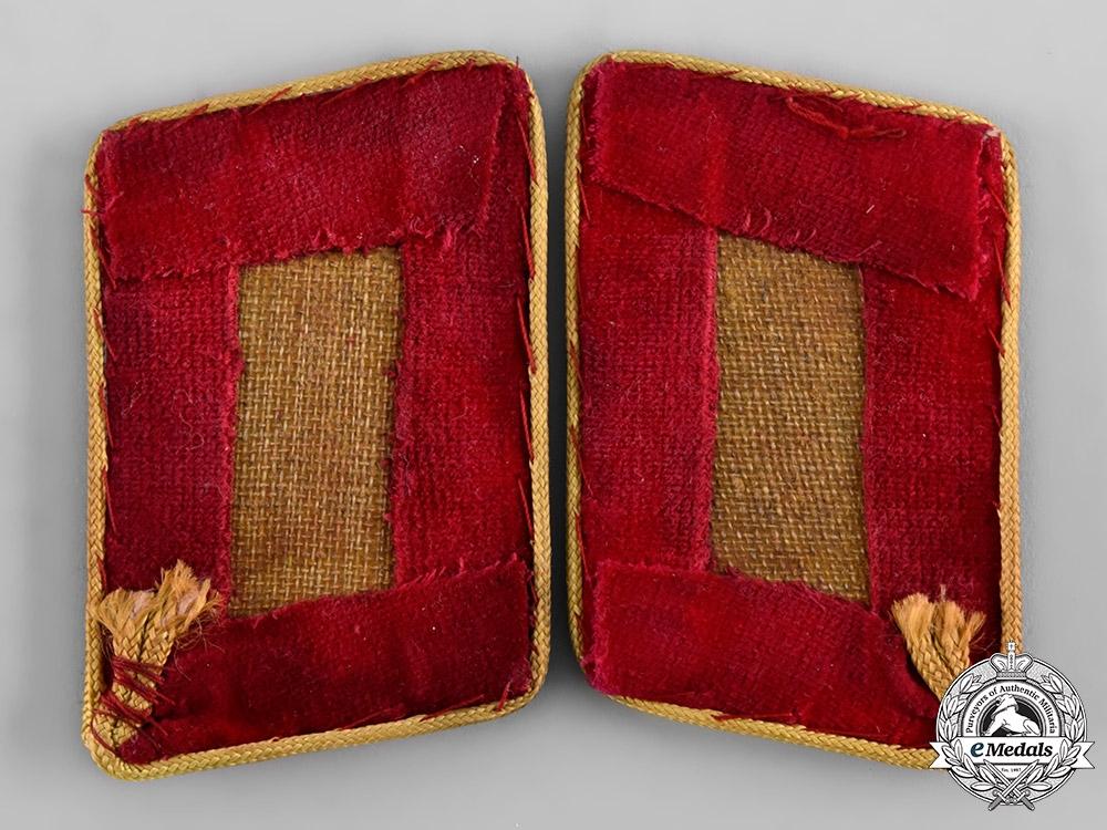 Germany, NSDAP. A Pair of Reichs Level Hauptbereichsleiter Collar Tabs
