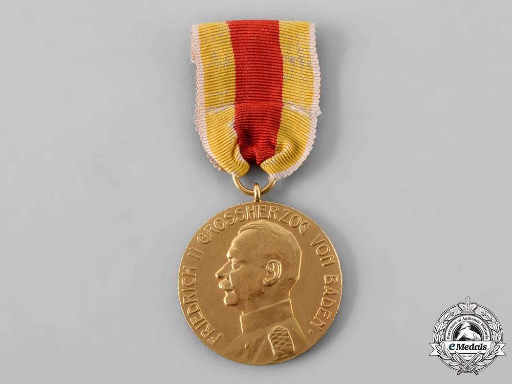 Baden, Grand Duchy. A Civil Merit Medal, , c.1908