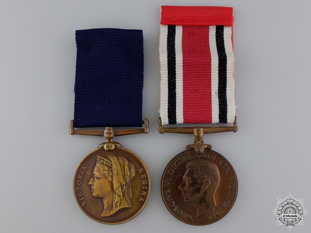 Two British Constabulary Medals