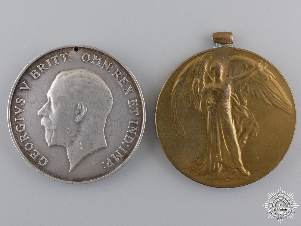 Two First War Campaign Medals