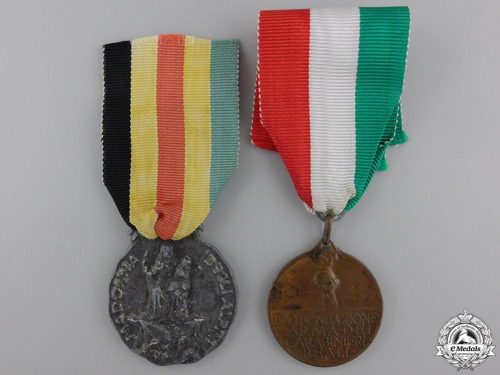Two Italian Regimental Medals