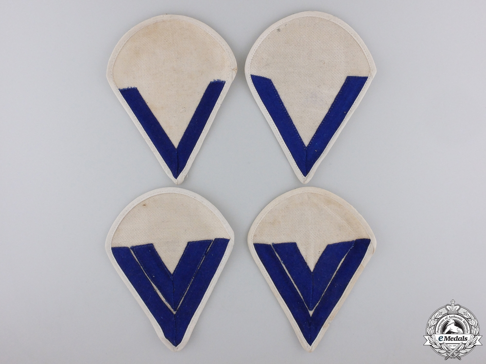 Two Pairs of Kreigsmarine Rank Chevrons
