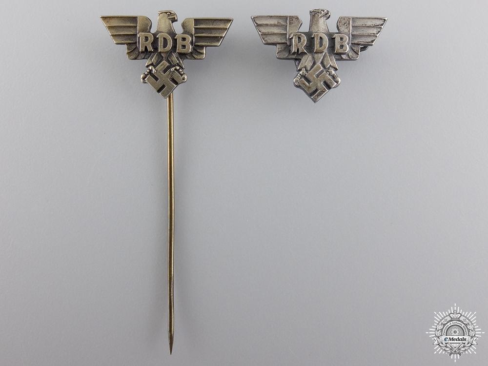 Two RDB Badges