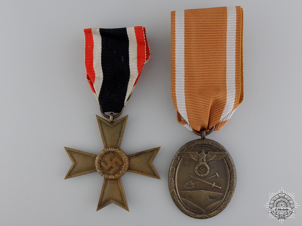 Two Second War German Medals
