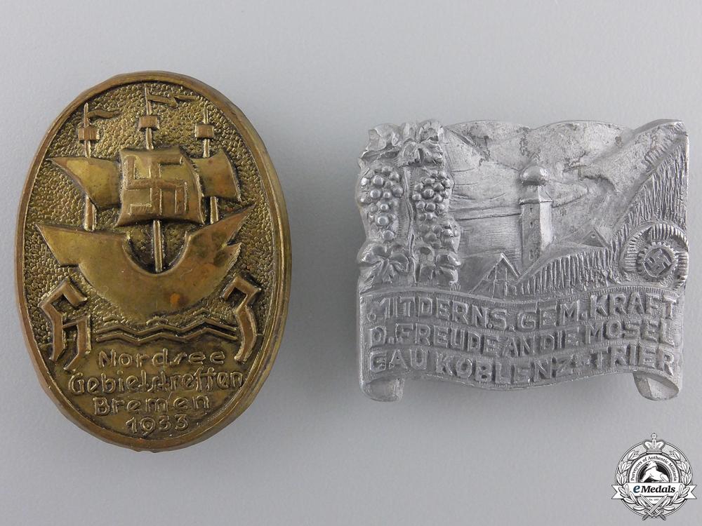 Two Second War Period German Tinnies