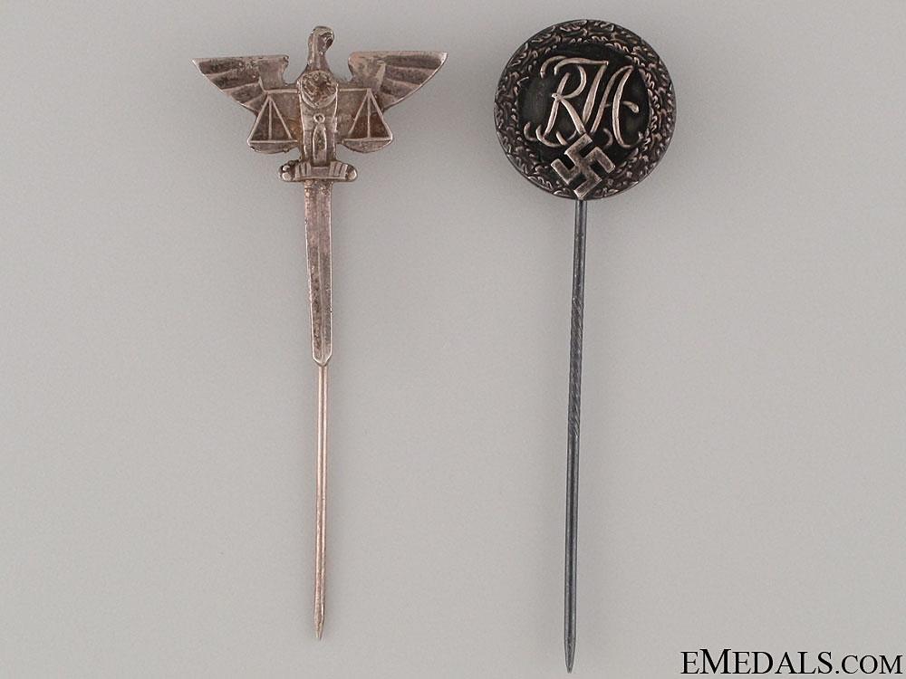 Two Stickpins