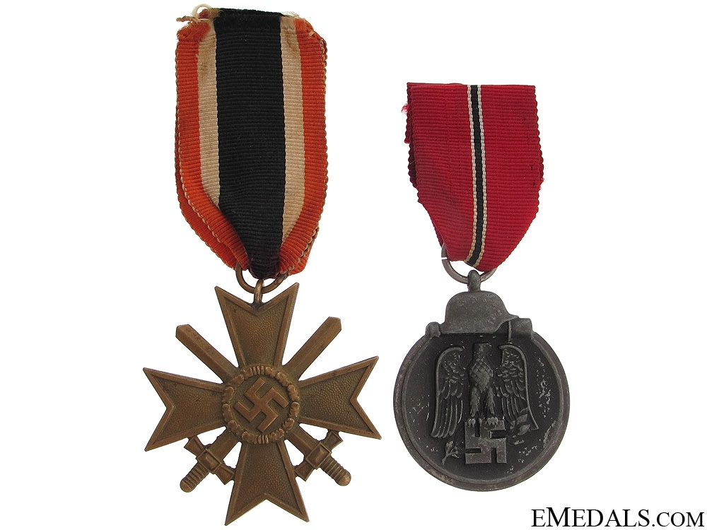 Two WWII Third Reich Awards