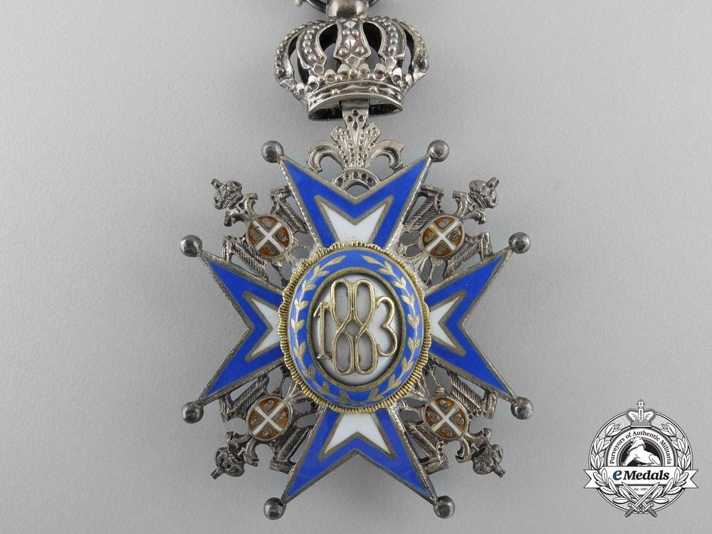 A Serbian Order of St.Sava 1921-1941; 5th Class Knight