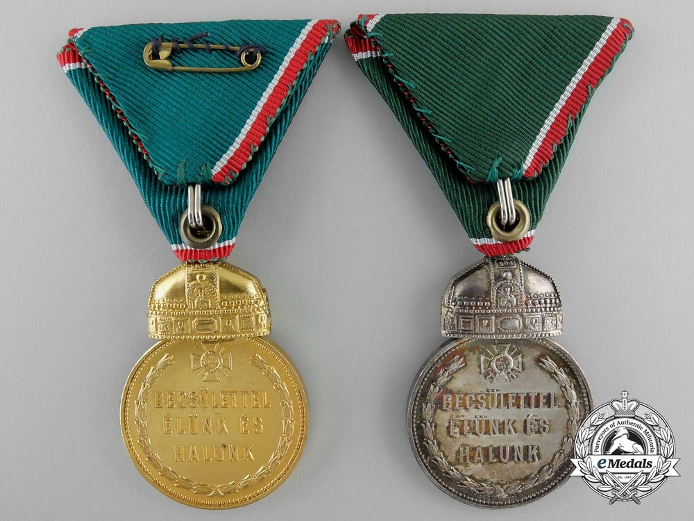 Three post 1945 Hungarian Awards