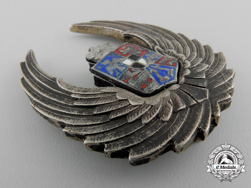 A Royal Romanian Air Force Observer's Badge