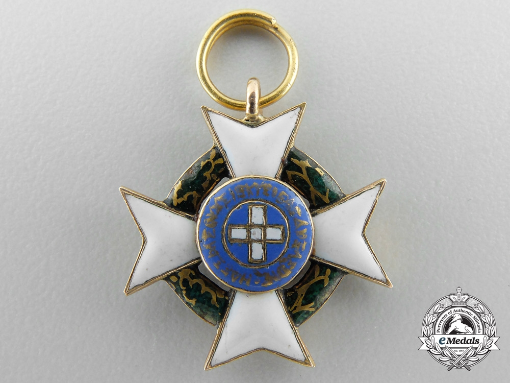 Greece, Kingdom. A Royal Order of the Redeemer in Gold, Miniature, c.1865