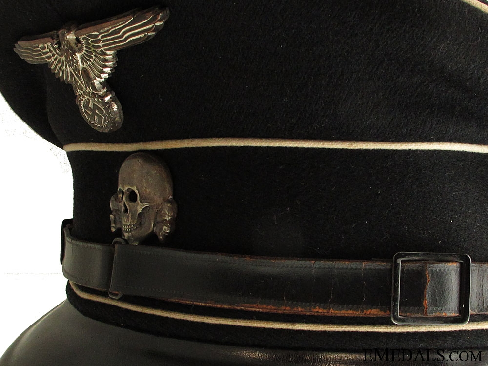 A 1936 Allgemeine SS NCO Visor Cap