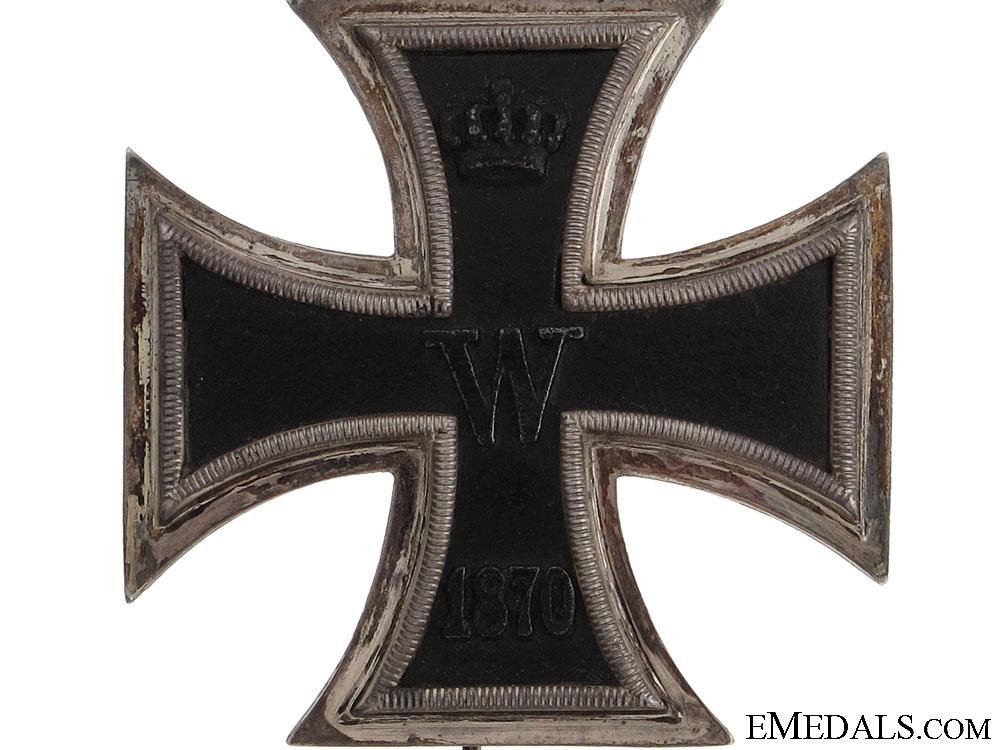 1870 Iron Cross First Class