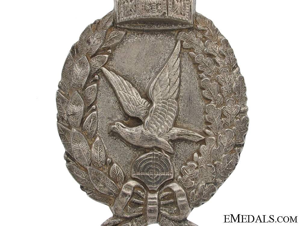 A WWI Prussian Air Gunner Badge