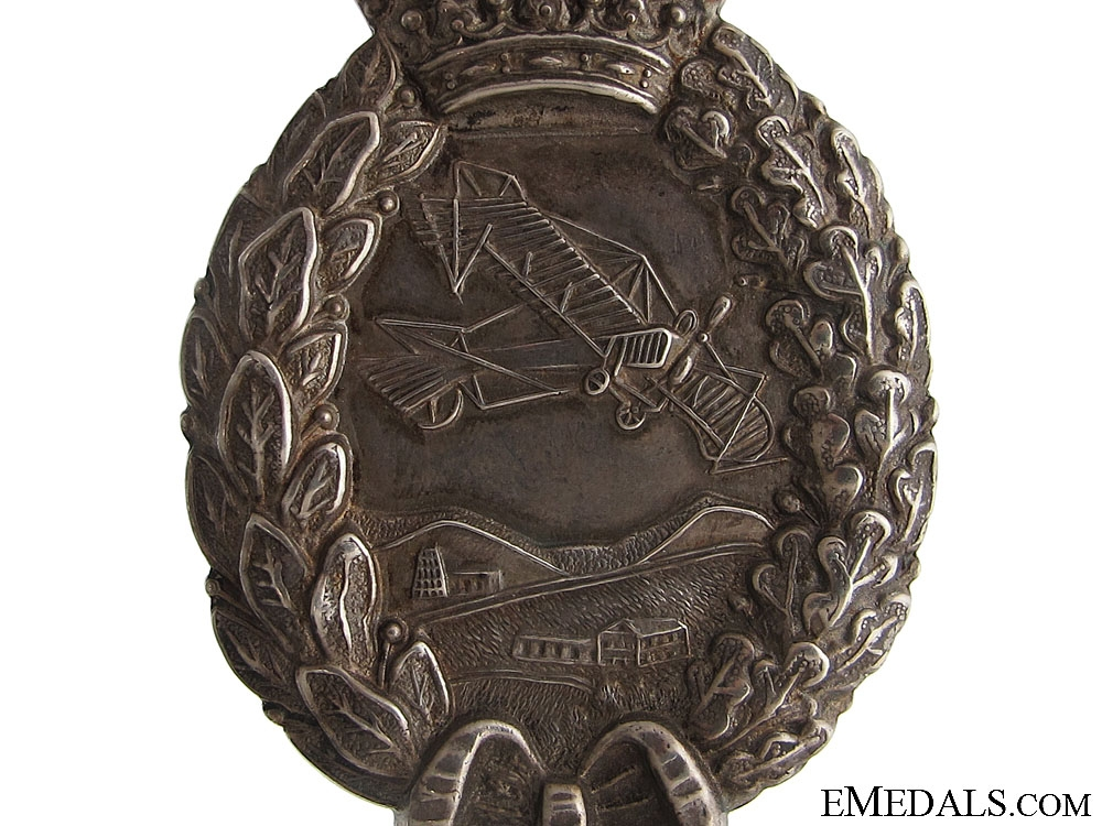 A WWI Bavarian Pilots Badge by Karl Pöllath